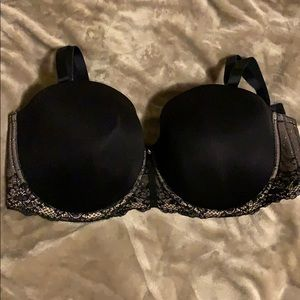 Torrid Black Microfiber Lightly Lined Bra